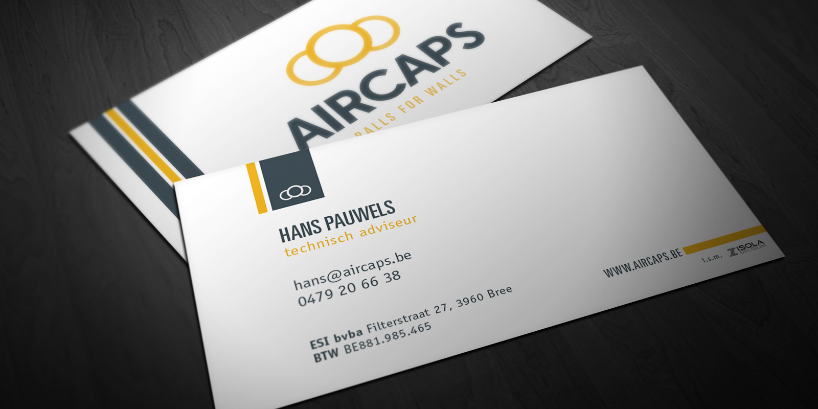 Aircaps - brand building